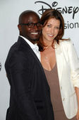 Taye Diggs and Kate Walsh — Stock Photo