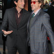 Adrien Brody and Robert Downey Jr.  at the Splice Los Angeles Premiere, Chinese Theatre, Hollywood, CA. 06-02-10 — Stock Photo