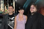Vincenzo Natali, Delphine Chaneac and Guillermo Del Toro — Stock Photo