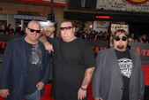 Rick Harrison, Corey Harrison and Austin 'Chumlee' Russell — Stock Photo