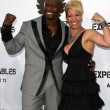 Terry Crews and wife Rebecca Crews — Stock Photo