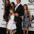 Постер, плакат: Sylvester Stallone Jennifer Flavin and children