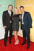 Cole Hauser, Kelli Giddish and Jesse Metcalfe — Stockfoto