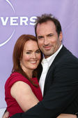 Laura Innes and Scott Patterson — Stock Photo