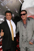 Sylvester Stallone and Mickey Rourke — Stock Photo