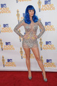 Katy Perry at the 2010 MTV Movie Awards Arrivals, Gibson Amphitheatre, Universal City, CA. 06-06-10 — Stock Photo