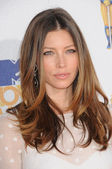 Jessica Biel at the 2010 MTV Movie Awards Arrivals, Gibson Amphitheatre, Universal City, CA. 06-06-10 — Stock Photo