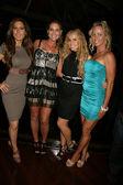 Kerri Kasem, Meghan Noone, Ashley Marriott and Kelly Aldrich at the Lets Kick It For Kenya Concert Benefit, Eleven, West Hollywood, CA. 06-04-10 — Stock Photo