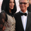 Постер, плакат: Cher and Mike Nichols at the The AFI Life Achievement Award Honoring Mike Nichols presented by TV Land Sony Pictures Studios Culver City CA 06 10 10