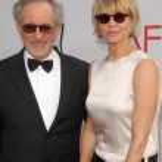 Постер, плакат: Steven Spielberg and Kate Capshaw