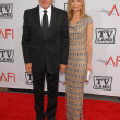 Постер, плакат: Harrison Ford and Calista Flockhart at the The AFI Life Achievement Award Honoring Mike Nichols presented by TV Land Sony Pictures Studios Culver City CA 06 10 10