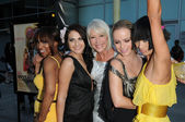 "Elise Neal, Scout Taylor-Compton, Helen Mirren, Taryn Manning and Bai Ling at the ""Love Ranch"" Los Angeles Premiere, ArcLight Cinemas, Hollywood, CA. 06-23-10 — Stock Photo"