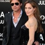 Brad Pitt, Angelina Jolie — Stock Photo #14640323
