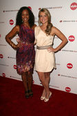Garcelle Beauvais and Ali Fedotowskyat the Second Annual Give & Get Fete night of pampering, Private Location, West Hollywood, CA. 08-16-10 — Foto de Stock
