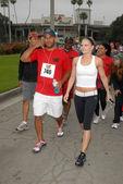 Amaury Nolasco, Jennifer Morrison — Stock Photo