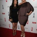 ������, ������: Kourtney Kardashian and Kris Jenner