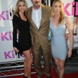 Tom Selleck and Jillie Mack and Daughter Hannah Margaret Mack Selleck — Stock Photo