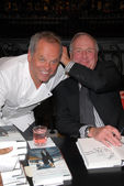 Wolfgang Puck and Jerry Weintraub — Stock Photo