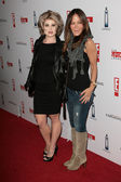Kelly Osbourne and Robin Antin at the Keeping Up with the Kardashians The Spin Crowd Series Party, Trousdale, West Hollywood, CA. 08-19-10 — Stock Photo