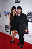 Ashlee Simpson, Pete Wentz — Stock Photo