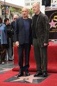 Sir Ben Kingsley, Bruce Willis — Stock Photo