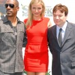 Постер, плакат: Eddie Murphy Cameron Diaz and Mike Myers at the Shrek Forever After Los Angeles Premiere Gibson Amphitheater Universal City CA 05 16 10