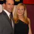 "Stockfoto: Jon Hamm and Jennifer Westfeldt at AMC's ""Mad Men"" Season 4 Los Angeles Premiere, Mann Chinese 6, Hollywood, C07-20-10"