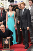 Sir Ben Kingsley, Daniela Lavender, Bruce Willis, Jerry Bruckheimer — Stock Photo