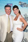 Alan Thicke and Tanya Callau at the Comedy Central Roast of David Hasselhoff, Sony Studios, Culver City, CA. 08-01-10 — Stock Photo