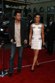 "Kate Beckinsale and husband Len Wiseman at the ""Going The Distance"" Los Angeles Premiere, Chinese Theater, Hollywood, CA. 08-23-10 — Stock Photo"