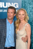 Thomas Jane and Anne Heche — Stock Photo