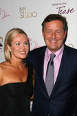 Amanda Holden, Piers Morgan — Stock Photo