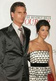 Scott Disick and Kourtney Kardashian — Stock Photo