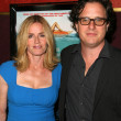 "Elisabeth Shue and Davis Guggenheim at the ""Piranha 3D"" Los Angeles Premiere, Chinese 6. Hollywood, CA. 08-18-10 — Stock Photo"