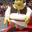Shrek  at the induction — Stock Photo