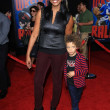"Garcelle Beauvais, son Jaid at ""Wreck-It Ralph"" Film Premiere, El Capitan, Hollywood, C10-29-12 — Stock Photo #14799791"