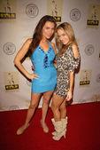 Alicia Arden and Paula Labaredas — Stock Photo