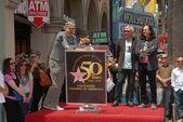 Billy Corgan, Alex Lifeson, Geddy Lee — Stock fotografie