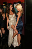 Kelly Brook and Riley Steele — Stock Photo