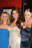 "Elisabeth Shue, Kelly Brook a Riley Steeleat ""piraňa 3d"" Los Angeles premiéra, čínská 6. Hollywood, Ca. 08-18-10 — Stock fotografie"