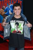 Adam Irigoyen at the Wreck-It Ralph Film Premiere, El Capitan, Hollywood, CA 10-29-12 — Stock Photo