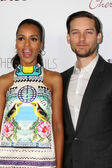 Kerri Washington, Tobey Maguire at The Details Los Angeles Premiere, Arclight, Hollywood, CA 10-29-12 — Stock Photo