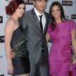 Rumer Willis, Ashton Kutcher and Demi Moore — Stock Photo #14983295