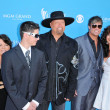 Stock Photo: Eddie Montgomery and Troy Gentry and Family