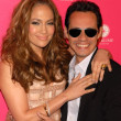 Jennifer Lopez and Marc Anthony — Foto de Stock