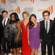 "Stockfoto: Cast of ""Glee"" at 21st Annual GLAAD MediAwards, Hyatt Regency Century Plaza, Century City, CA. 04-17-10"