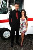 Josh Duhamel and Stacy Ferguson — Stock Photo