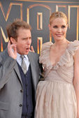 Sam Rockwell and Leslie Bibb — Stock Photo