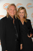 Joe Walsh and Wife Stephanie at the 10th Annual Lupus LA Orange Ball, Beverly Wilshire Hotel, Beverly Hills, CA. 05-06-10 — Stock Photo