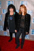 Nancy Wilson and Ann Wilson at the L.A. Gay and Lesbian Centers An Evening With Women Celebrating Art, Music and Equality, Beverly Hilton Hotel, Beverly Hills, CA. 05-01-10 — Stock Photo